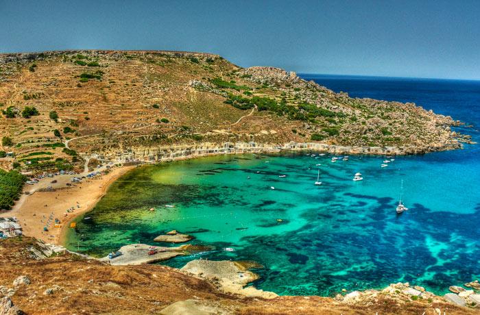 Gnejna-Bay
