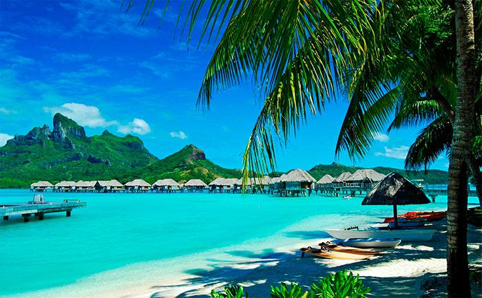 Красивые фото островов в океане