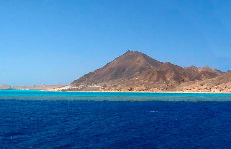 Остров Забаргад. Египет