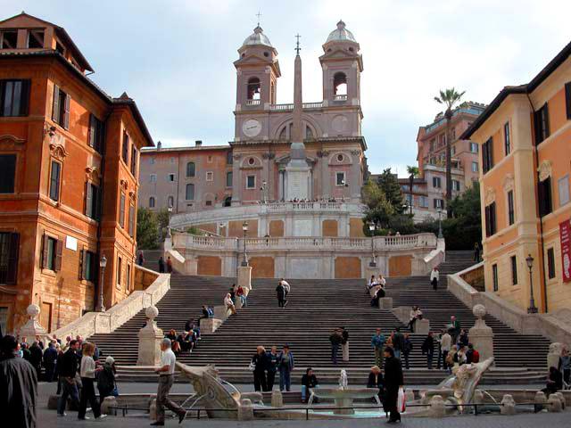 романтические места в Риме