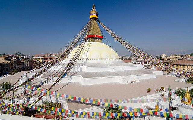 Храм Обезьян Сваямбху
