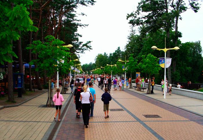 Паланга в Литве