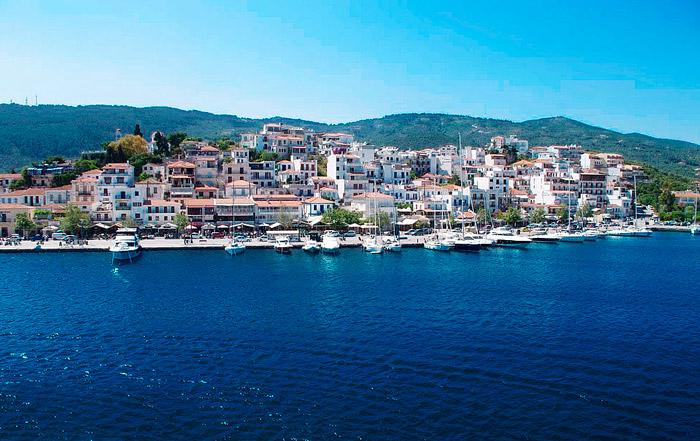 Остров Скиатос Греция