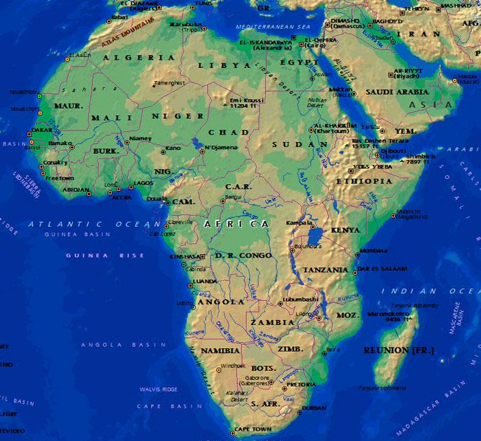 Малоизвестные интересные факты об Африке