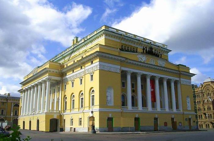 Что посмотреть в Санкт-Петербурге: Александринский театр
