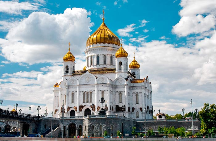 Что посетить в Москве: Храм Христа Спасителя