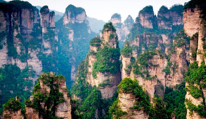 Самые красивые места в мире: Гора Тяньцзи