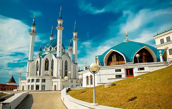 Мечеть Кул Шариф относится к самым красивым местам России