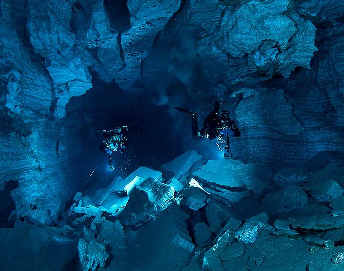 Ординская пещера. Пермский край