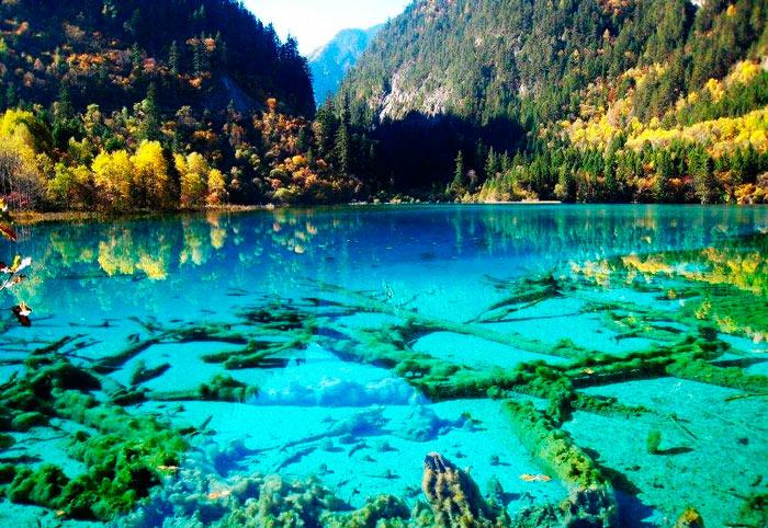 красивое место: долина цзючжайгоу