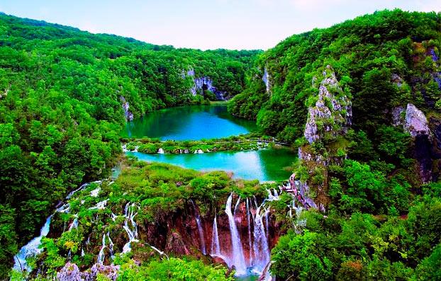 самые красивые места мира: Плитвицкие озёра