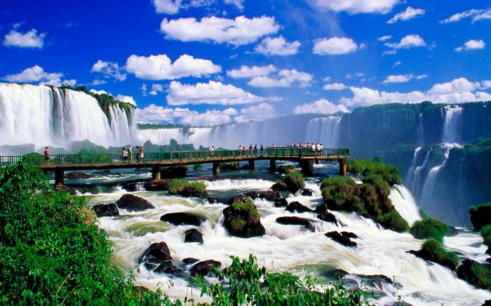 красивейшее место мира: Водопады Игуасу