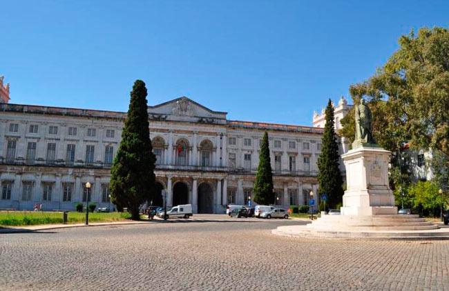 Что посмотреть в Португалии: Дворец Ажуда