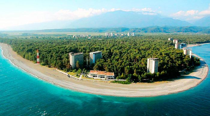 Пицунда, Абхазия