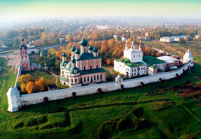 Самые красивые места Подмосковья: Успенский Горицкий монастырь