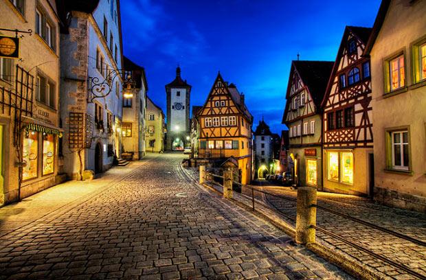 Самые красивые улицы в Европе