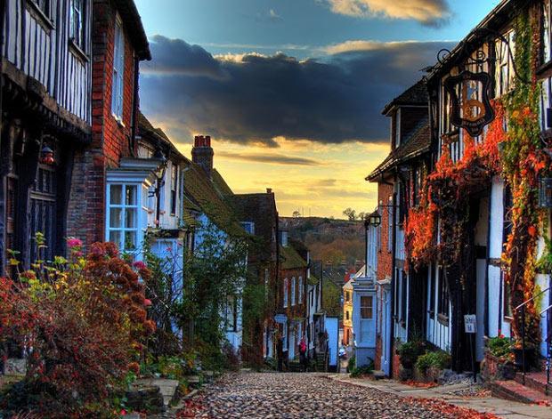 красивые улицы Европы: Mermaid-Street