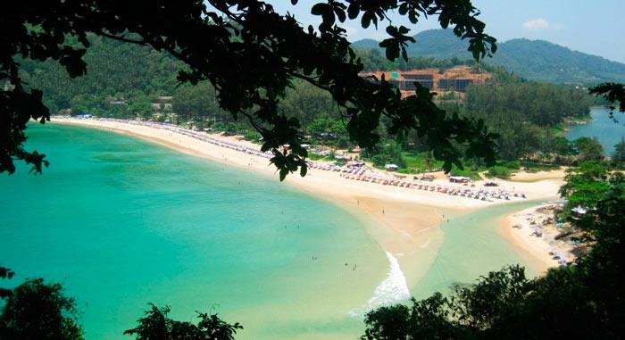 Лучший пляж Таиланда: Най-Харн