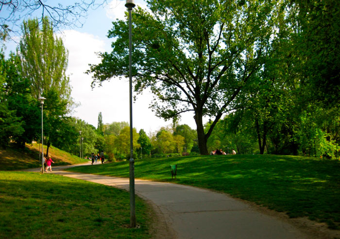 городской парк будапешта