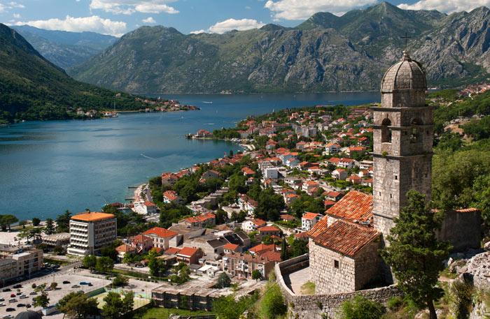 красивый курорт для отдыха в Черногории