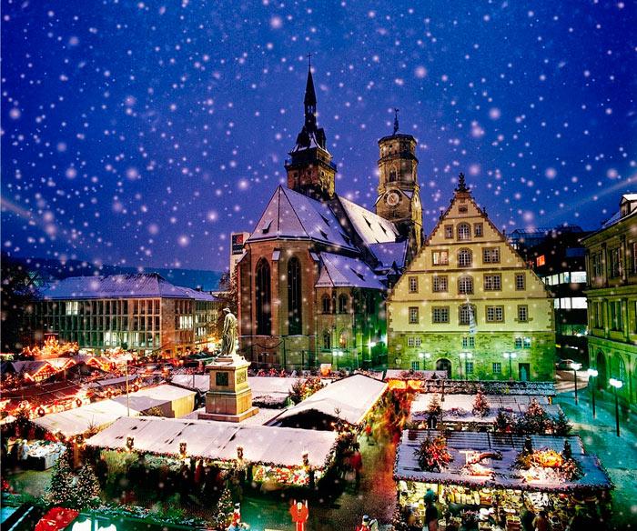 мюнхенский рождественский базар