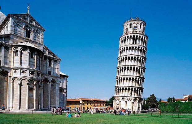 15 самых лучших достопримечательностей Европы: Пизанская башня