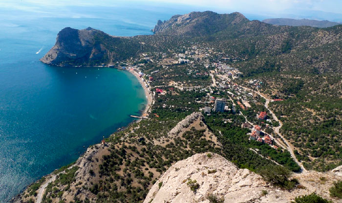 Путешествем по Крыму на автомобиле