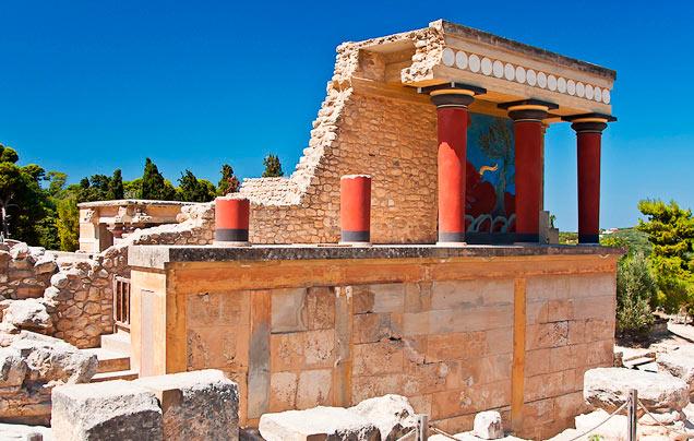 Кносский дворец. Остров Крит