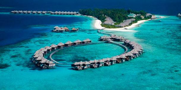 роскошный остров на Мальдивах