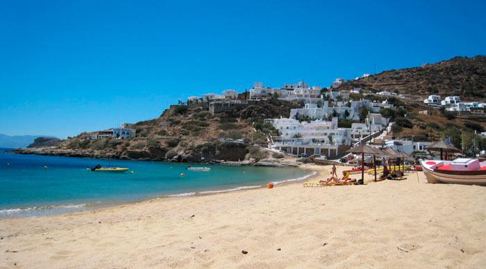 Лучшие пляжи Греции: Манганари