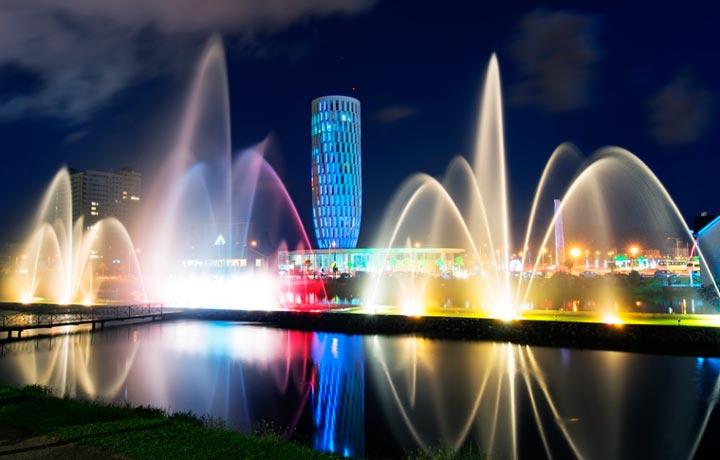 Основные достопримечательности Грузии: Батумские фонтаны