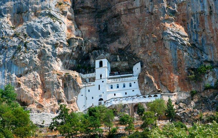 Достопримечательности Черногории: Острог