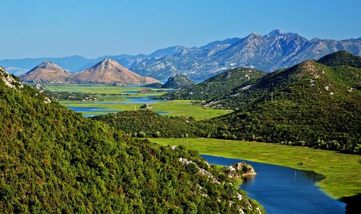Скадарское озеро. Фото