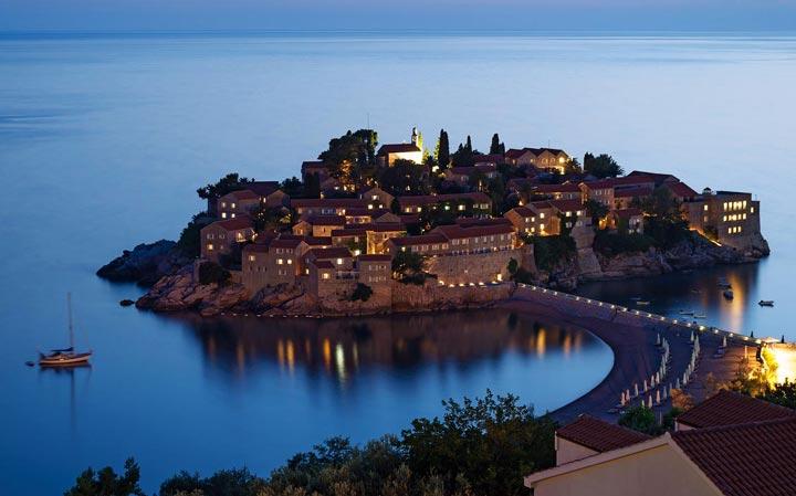 Достопримечательности Черногории: Свети Стефан