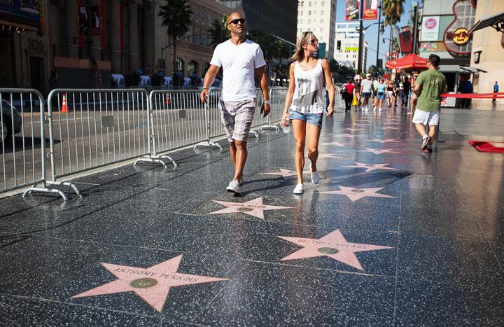Достопримечательности в США: Аллея звёзд