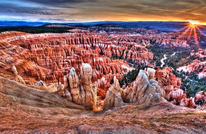 Самые красивые места США