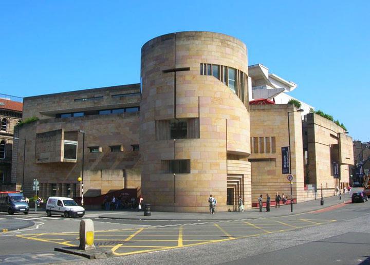 Национальный музей Шотландии. Эдинбург