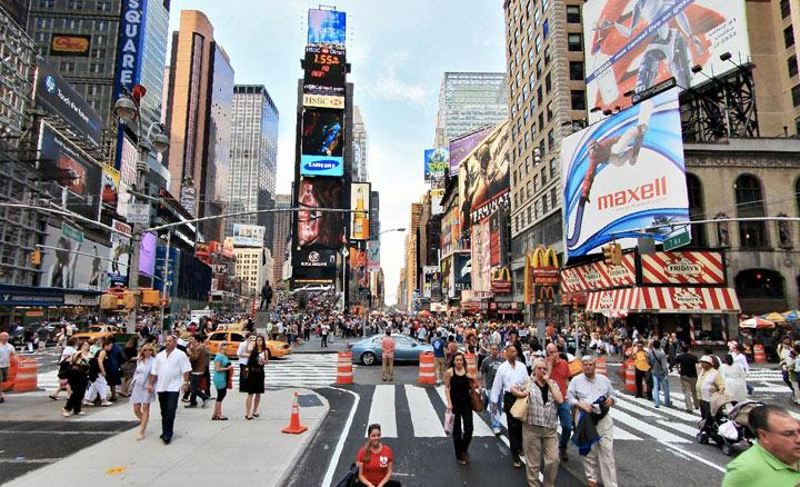 Достопримечательности США: Таймс Сквер