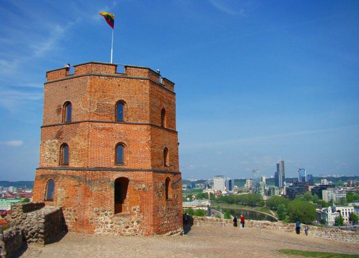 Достопримечательности Вильнюса: Башня Гедимина