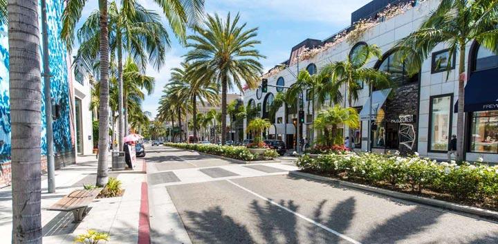 Самые красивые места Лос-Анджелеса. Фото
