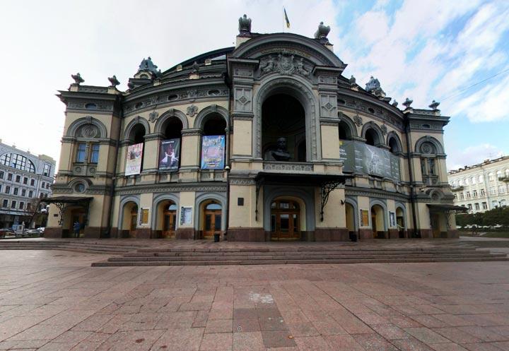 Достопримечательности Киева: Оперный театр