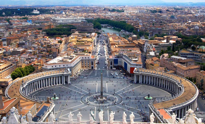 Достопримечательности Рима: Площадь Святого Петра