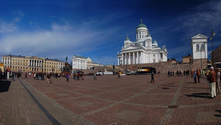 Достопримечательности Хельсинки: Сенатская площадь
