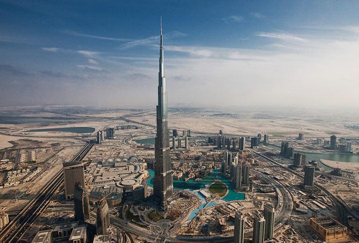 Лучшие места Дубая: Бурдж-Халифа