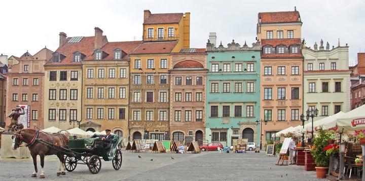 Достопримечательности Варшавы. Фото
