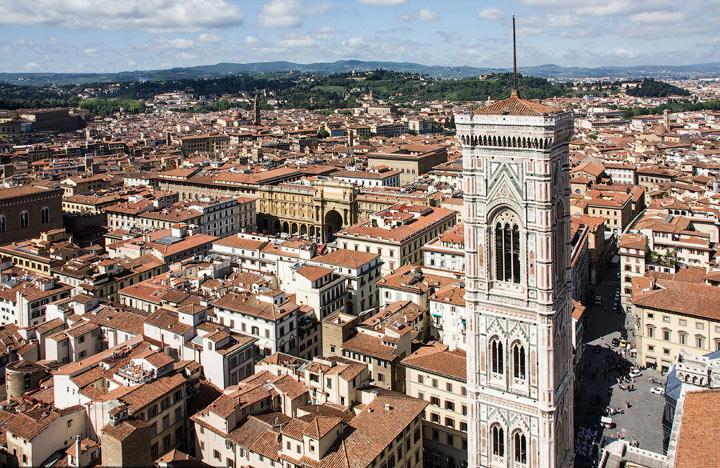 Достопримечательности Флоренции: Колокольня Джотто