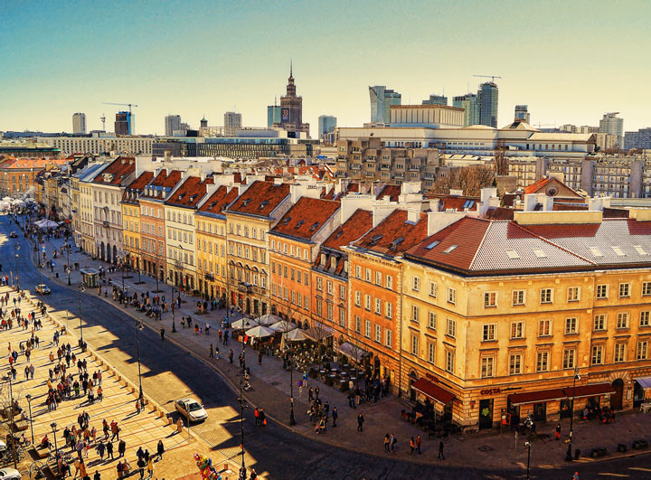 Достопримечательности Варшавы: 12 лучших мест