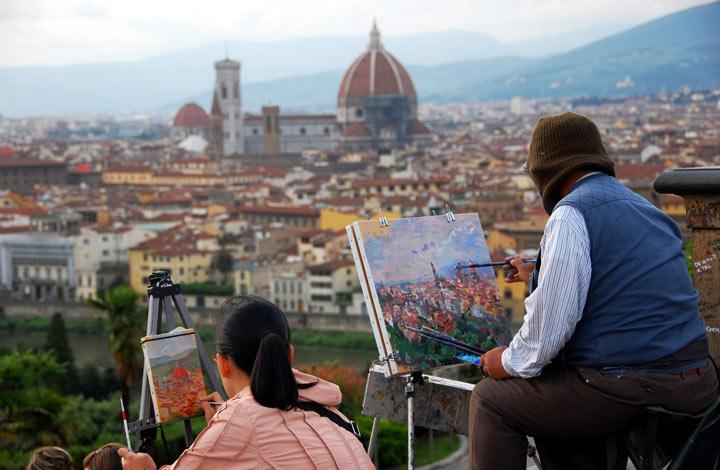 Достопримечательности Флоренции: Площадь Микеланджело