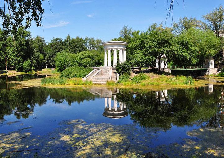 Самые красивые места в Екатеринбурге: Харитоновский сад