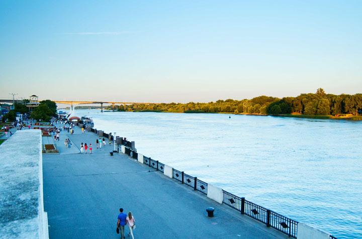 Достопримечательности Ростова-на-Дону: Набережная реки Дон